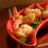 Papaya-Coconut Crusted Shrimp