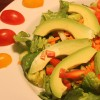 Sliced Avocado Salad