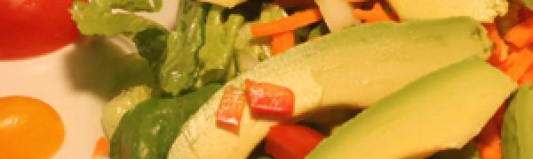 Sliced Avocado Salad